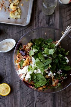 Roasted Cauliflower, Beet, and Farro Winter Salad | http://joythebaker.com/2015/02/roasted-cauliflower-beet-farro-winter-salad/