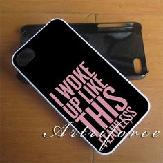 Beyonce I Woke Up Like This Case - Design Case For iPhone 4,4s,5,5s,5C iPod Touch 4,5 Samsung Galaxy S2/S3/S4 Samsung Note case on Etsy, $13.85