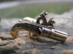Vintage Gun Cufflinks