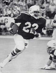 Texas A&M running back Curtis Dickey ('76-'79)