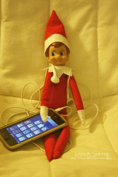 Omb here's another elf on a shelf I am pinning!