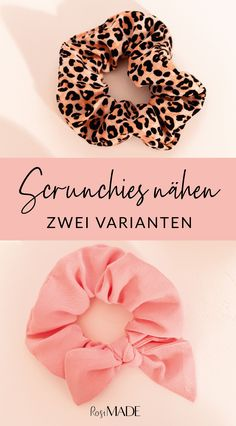 Scrunchie nähen: Haargummis aus Stoffresten selber machen - RosiMADE - everyday hairstyles,everyday hairstyles for long hair,everyday hairstyles for short hair Fabric Remnants, Fabric Scraps, Vintage Ponytail, Tiny Flowers, How To Make Hair, Learn To Sew, Vintage Fabrics, Fabric Covered, Free Sewing