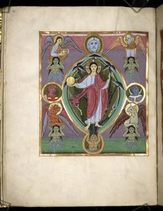 Gospel Book from the Bamberg Cathedral (Reichenau Gospel) — Viewer — World Digital Library