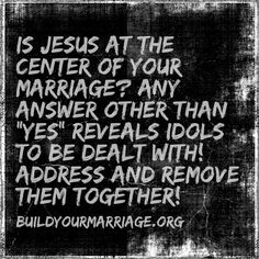 This will take some heart-searching thought--and it can set your marriage up for MORE of God's blessings...