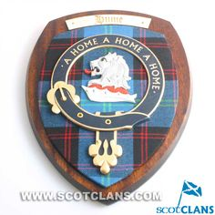 Clan Home / Hume Extra Large Clan Crest Wall plaque
