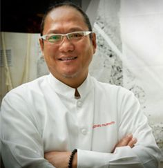Chef Masaharu Morimoto—known to millions as the star of Iron Chef and Iron Chef America—has garnered critical and popular acclaim for his seamless integration of Western and Japanese ingredients. Description from ironchefmorimoto.com. I searched for this on bing.com/images