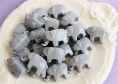 An pack of elephant-shaped mini soaps that you can use as party favors or an unexpected decoration in your bathroom.   42 Gifts Every Elephant Lover Will Want To Get This Year