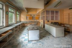 Kitchen in the Mimer-house. Narvik, Norway.