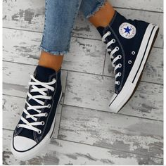 a398a9422a Converse Shoes   New Converse Chuck Taylor Navy High Tops   Color: Blue    Size: 8.5. Converse All StarConverse ...