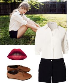 """""""Taylor Swift"""" by lillej ❤ liked on Polyvore"""