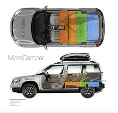 This is a modular SUV/station wagon based camper setup, that sleeps two in luxury, has ample storage space and costs almost nothing. Additionally, I'll show you how...
