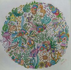 Unleash Your Inner Child With Johanna Basfords Coloring Books For See More 1a Mandala OP Oceanoperdido Lostocean