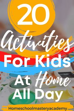 Occasionally, we just need some fun activities for kids at home all day. Kids can quickly become bored, and parents need quality ideas to keep them engaged. Indoor Activities For Toddlers, Water Games For Kids, Games For Toddlers, Summer Activities For Kids, Fun Activities For Kids, Lessons For Kids, Family Activities, Outdoor Activities, Toddler Games