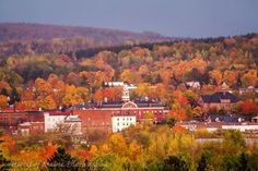 Houlton, Maine in Autumn