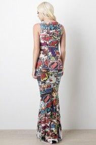 I would ROCK this dress!1 Expressive Strip Maxi Dress