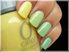 Love all of these!  ombre nails11 Ombre Nail Designs For Summer