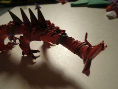 origami tutorial dragon modular - Szukaj w Google