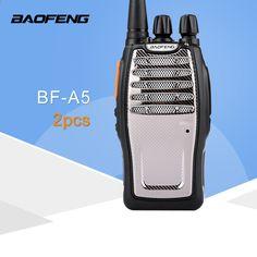 (2 PC) BaoFeng UHF Walkie Talkie BF-A5 16CH VOX + Función de aleatorizador Envío gratuito Radio bidireccional Scrambler, Radios, Vox, Two Way Radio, Walkie Talkie, Cool Things To Buy, Free Delivery, Universe, Free Shipping