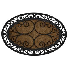Delicieux Shop Mohawk Home 36 In X 22 In Multicolor Oval Door Mat At Lowes