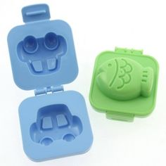Car/Fish Egg Mold - Lunch Boxes With Love