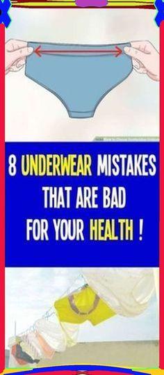 Unhealthy underwear common habits