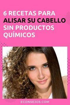 Cómo alisar el cabello sin químicos
