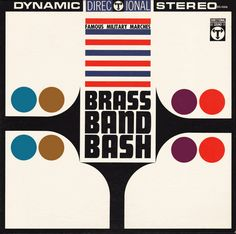 Brass Band Bash album cover by Sam Suliman.