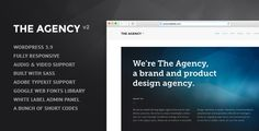 Discount Deals The Agency v2 - WordPress Theme for AgenciesThis site is will advise you where to buy