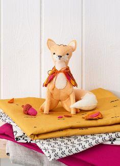 Felt fox pattern #diy #craft