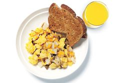 Egg & Cheese Breakfast Bowl http://www.prevention.com/weight-loss/diets/low-calorie-meals-5-minute-meals-for-weight-loss/slide/2