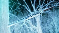 Cloud Strife buster sword. Final Fantasy VII: Advent Children Complete.