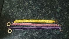 Right angle bracelets