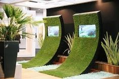 eco exhibition stand - Google Search- innovative, eco concious and good idea with electronics