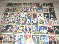 Barry Bonds Major League Baseball Cards Lot of 108 Cards in 9 pockets & Binder