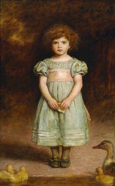 Afbeelding van http://upload.wikimedia.org/wikipedia/commons/7/75/John_Everett_Millais_-_Ducklings_-_Google_Art_Project.jpg.