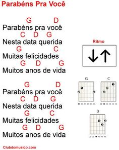 Cifra de música Fácil de Tocar no Violão Easy Guitar Chords, Music Chords, Ukulele Chords, Music Guitar, Playing Guitar, Acoustic Guitar, Music Songs, Easy Guitar Tabs, Music Lessons