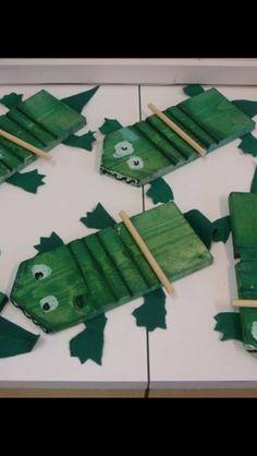 Emu, Hand Crafts For Kids, Wood Crafts, Primary Education, Trumpet, Musica, Children, Dekoration, Peppa Pig