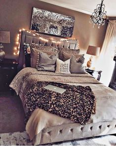 I love the colors and how cozy the room feels..