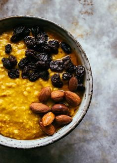 Turmeric Oatmeal — The All Natural Cure