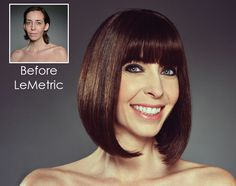LeMetric is a full service salon in NYC that features hair makeovers for  mature women. 958c7e1660