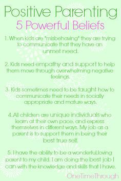 Positive Parenting i