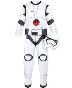 Star Wars Boys' or Little Boys' 4-Pc. Stormtrooper Costume