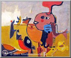 Corneille (1922-2010) was een Nederlandse Cobra-schilder. Aanvankelijk sterk beïnvloed door het werk van Picasso, maakte hij zich in 1948 hiervan los en trad toe tot de Cobra-beweging; hij is daarvan medeoprichter, samen met onder anderen de Nederlanders Karel Appel, Jan Nieuwenhuijs, diens broer Constant Nieuwenhuijs en de Belgen Christian Dotremont en Joseph Noiret.- 1949