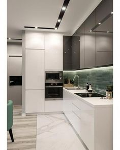 Excellent modern kitchen room are readily available on our internet site. Kitchen Room Design, Kitchen Dinning, Kitchen Cabinet Design, Modern Kitchen Design, Kitchen Layout, Home Decor Kitchen, Interior Design Kitchen, Kitchen Furniture, Home Kitchens