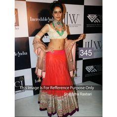 Shraddha Raspberry Net Brasso Net Bollywood Dress