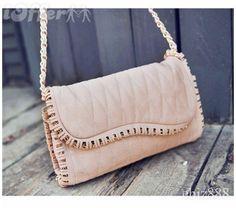 Argyle Chain Trim Shoulder Bag - $53.49 (iOffer)
