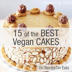 15 AMAZING Vegan cakes