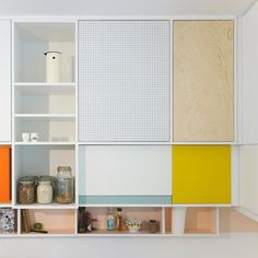 pegboard kitchen design by dries otten / sfgirlbybay