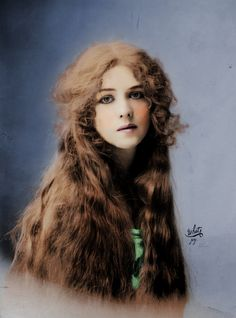 Broadway stage actress Lone Bright, 1912.