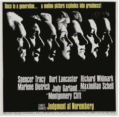"""Psicanálise & Cinema apresenta o filme """"Julgamento em Nuremberg"""", seguido de debate no dia 27 de janeiro, 72 anos após libertação de Auschwitz."""